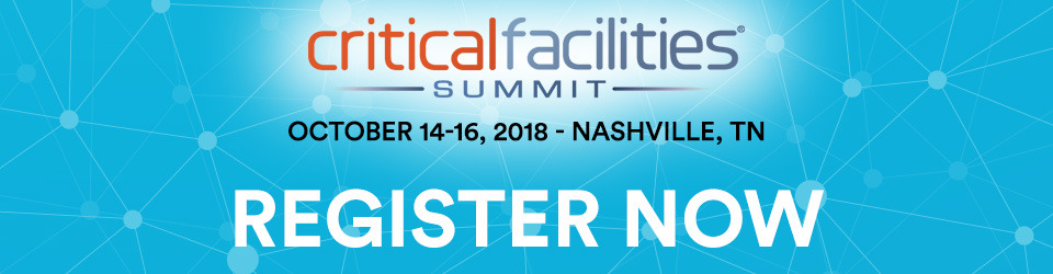 Critical Facilities Summit 2018
