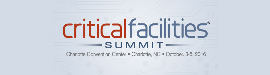 Critical Facilities Summit 2016