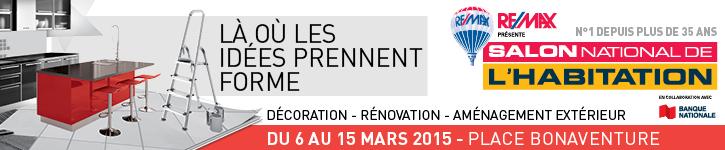 Salon national de l habitation 2015 2015 montreal for Salon de l habitation montreal